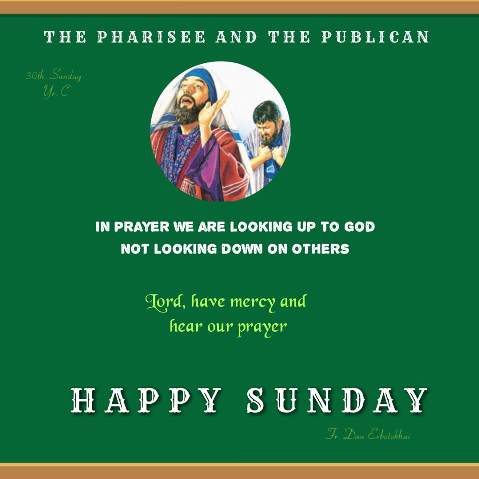 Thirtieth-Sunday in Ordinary Time – Year C