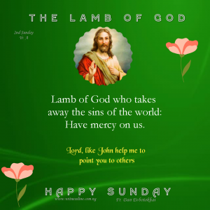 Second Sunday in Ordinary Time, Cycle A