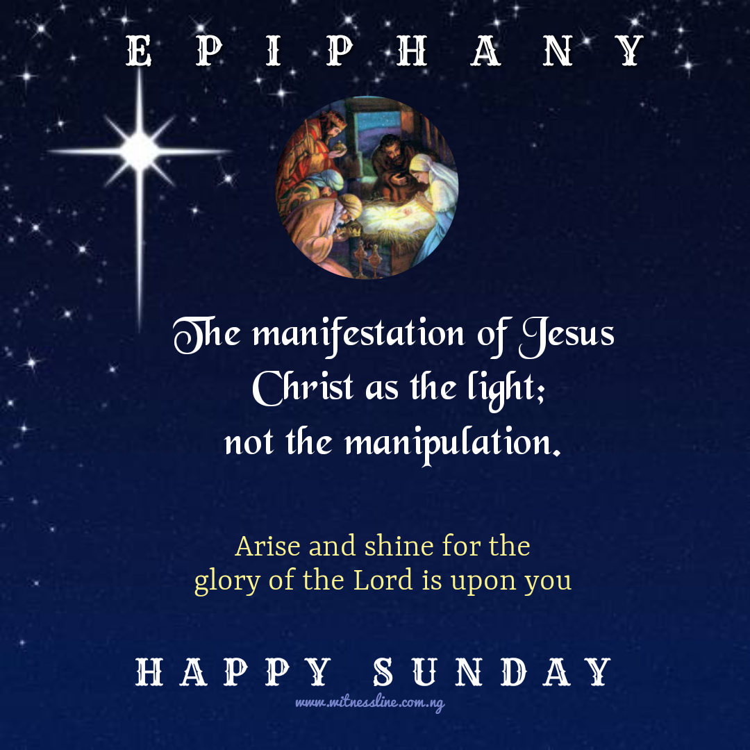 THE EPIPHANY OF THE LORD YEAR A