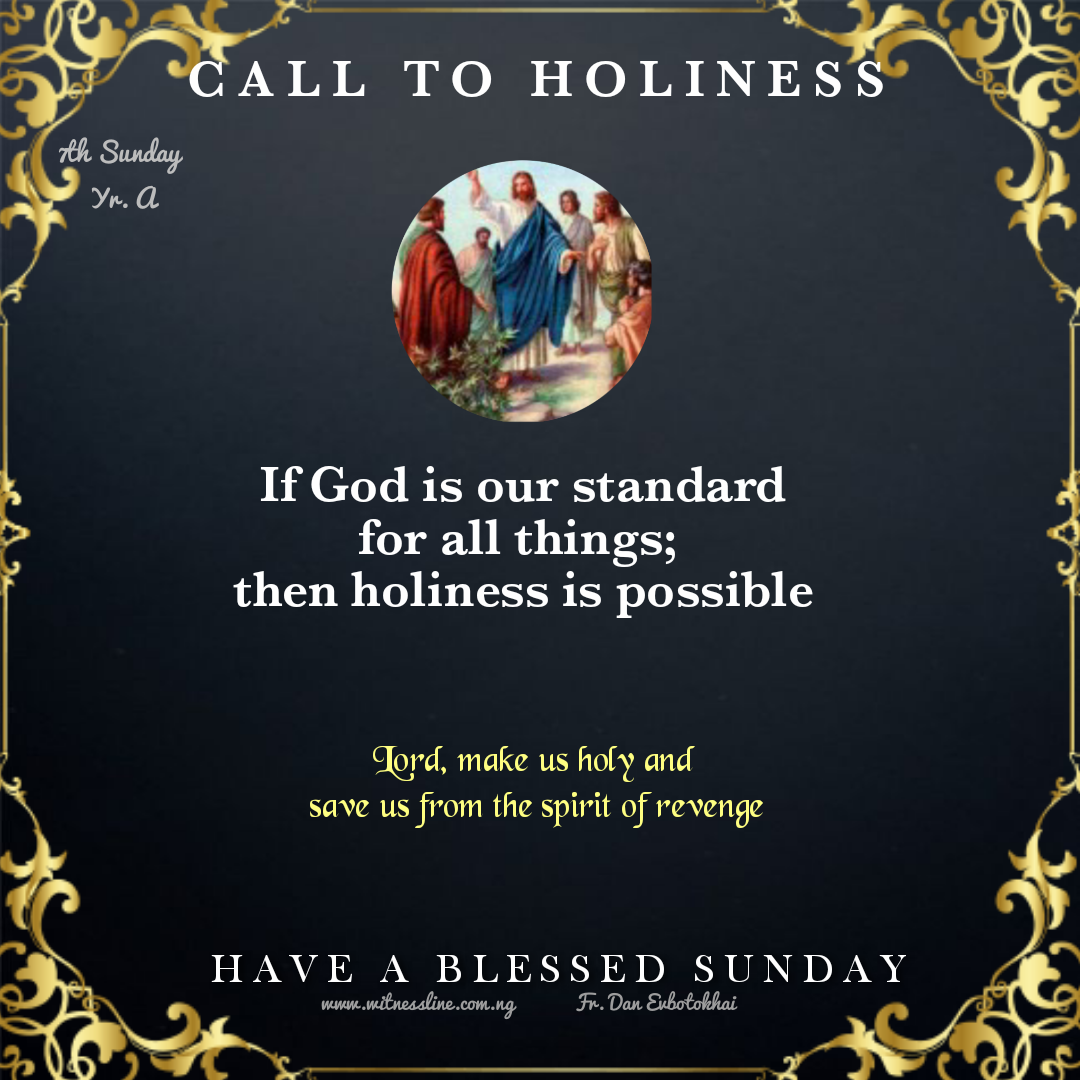 7TH SUN ORDINARY TIME -YEAR A