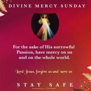 HOMILY FOR DIVINE MERCY SUNDAY YEAR A