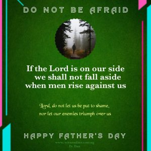 HOMILY FOR THE 12TH SUNDAY IN ORDINARY TIME YEAR A