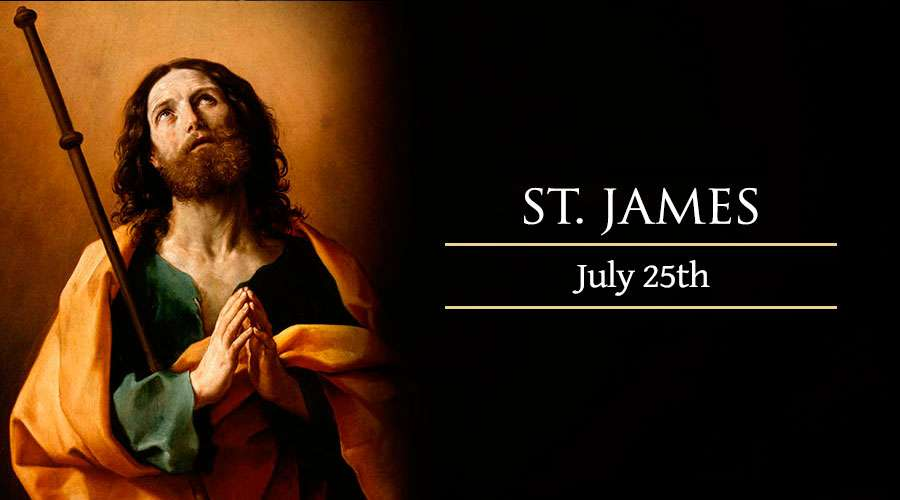 HOMILY FOR THEFEAST OF ST JAMES THE APOSTLE