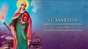 HOMILY FOR THE MEMORIAL OF ST MARTHA (29/7/2020)