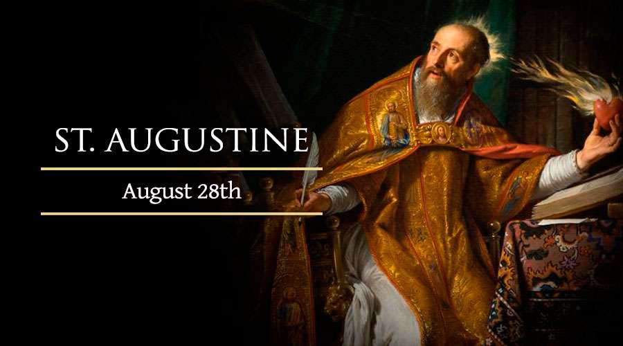 Homily for Friday twenty-first week ordinary time (Memorial of St Augustine, Bishop & Doctor of the Church)