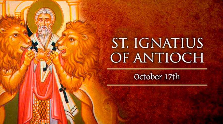 HOMILY FOR SATURDAY, 28TH WEEK IN ORDINARY TIME   (Memorial of St Ignatius of Antioch, Bishop & Martyr)
