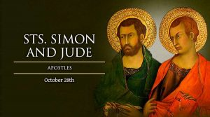 HOMILY FOR WEDNESDAY30TH WEEK IN ORDINARY TIME (FEAST OF ST. SIMON AND ST. JUDE THE APOSTLES)