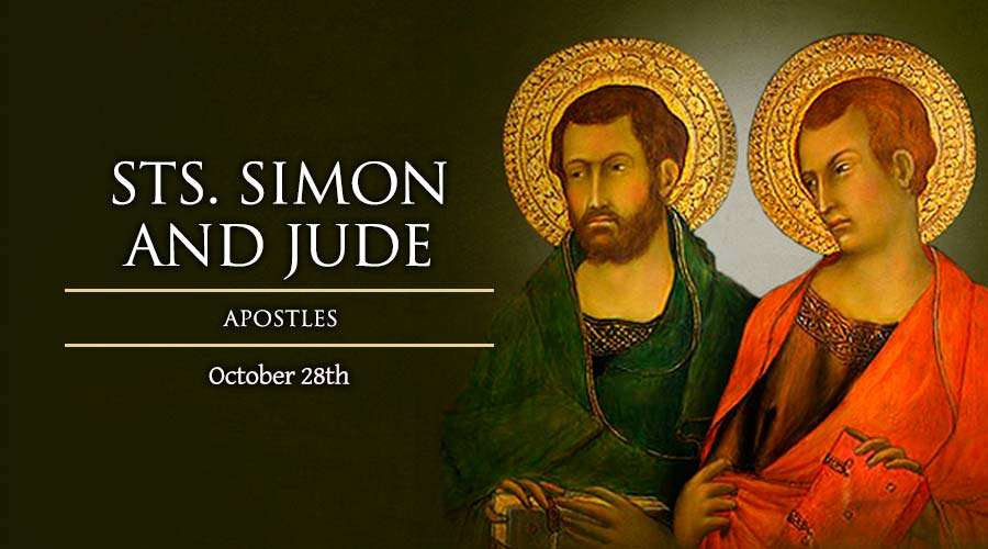 HOMILY FOR WEDNESDAY 30TH WEEK IN ORDINARY TIME (FEAST OF ST. SIMON AND ST. JUDE THE APOSTLES)