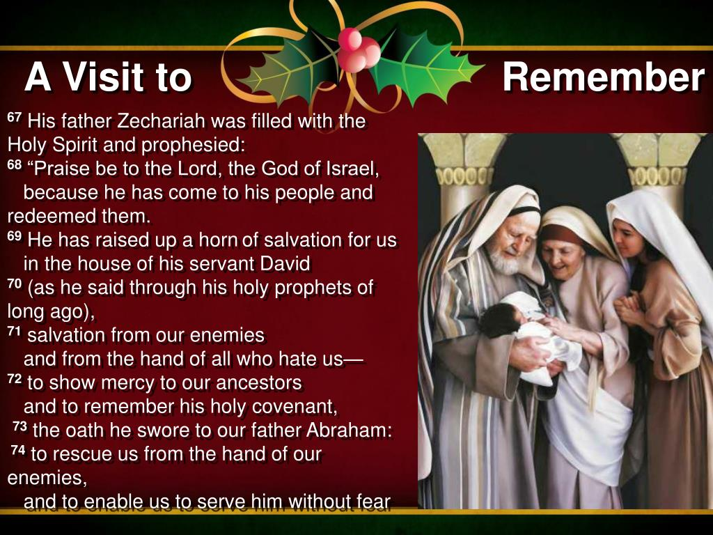 HOMILY FOR THURSDAY (DECEMBER 24, 2020) THE FOURTH WEEK OF ADVENT (Morning Mass)