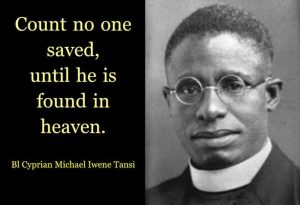 HOMILY FOR WEDNESDAY (JAN. 20TH 2021) THE FEAST OF BLESSED IWENE MICHAEL TANSI.