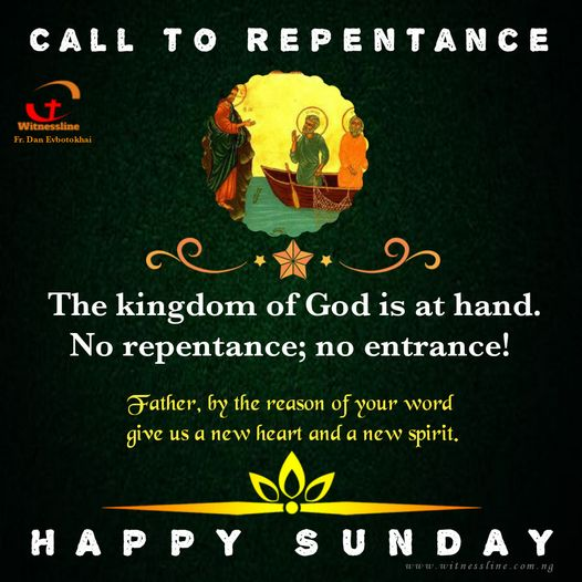 HOMILY FOR THE THIRD SUNDAY IN ORDINARY TIME YEAR B (SUNDAY OF THE WORD OF GOD)