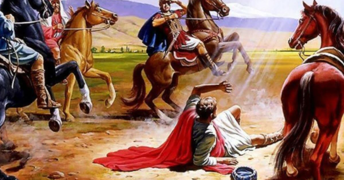 HOMILY FOR THE  FEAST OF THE CONVERSION OF ST PAUL, APOSTLE (25/1/2021)