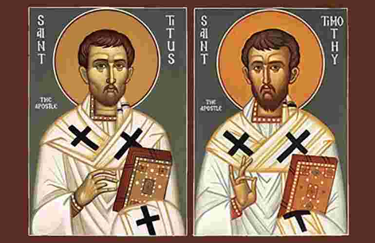 HOMILY FOR THE MEMORIAL OF STS. TIMOTHY AND TITUS, BISHOPS. (26/1/2021)