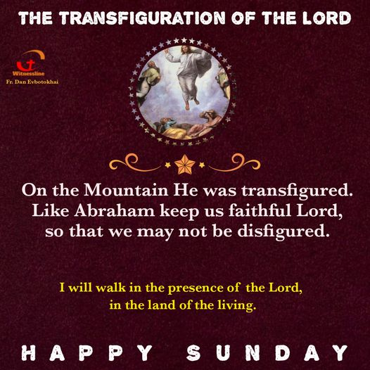 HOMILY FOR THE SECOND SUNDAY OF LENT, YEAR B (FEBRUARY 28, 2021)