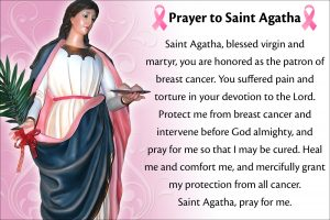 HOMILY FOR FRIDAY THE FOURTH WEEK IN ORDINARY TIME (MEMORIAL OF ST AGATHA, VIRGIN AND MARTYR) 5/2/2021