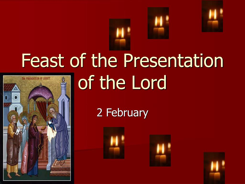 HOMILY FOR THE PRESENTATION OF THE LORD YEAR B