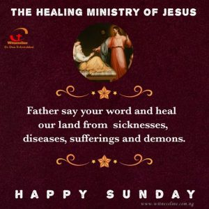 HOMILY FOR THE FIFTH SUNDAY IN ORDINARY TIME YEAR B