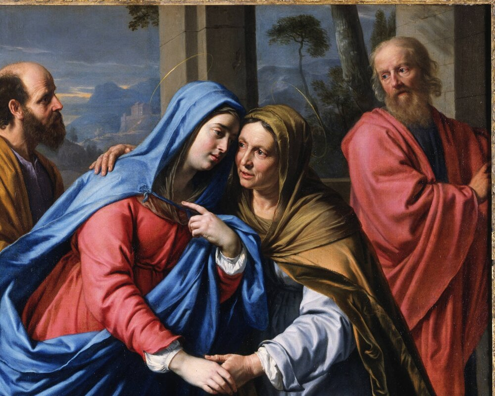 HOMILY FOR MONDAY, THE FEAST OF THE VISITATION OF THE BLESSED VIRGIN MARY 31/5/2021