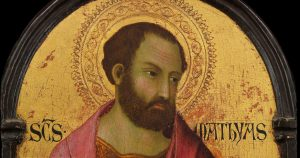 HOMILY FOR THE FEAST OF ST MATTHIAS, APOSTLE (14/5/2021)