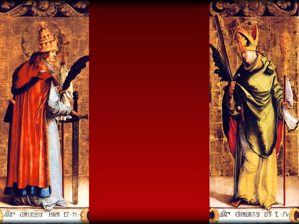 HOMILY FOR THURSDAY 24TH WEEK IN ORDINARY TIME YEAR 1 (Memorial of St Cornelius, Pope, & St Cyprian, Bishop, Martyrs)